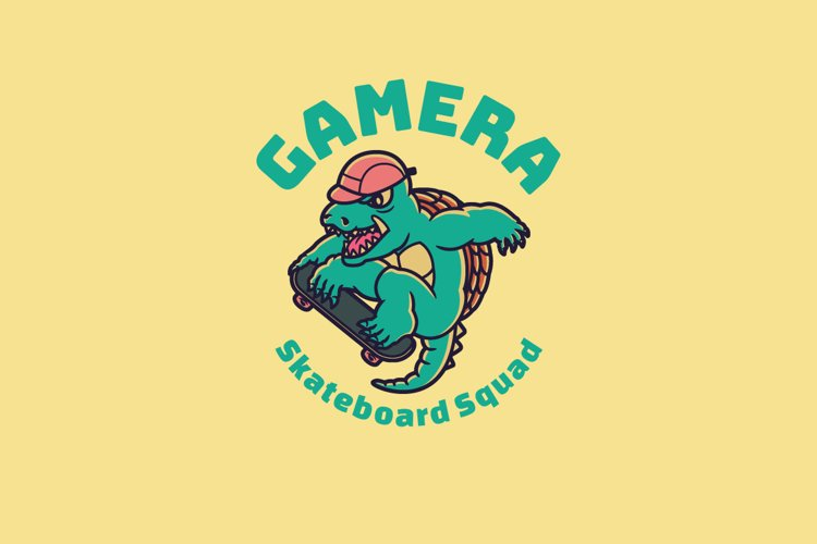 Gamera Logo Template
