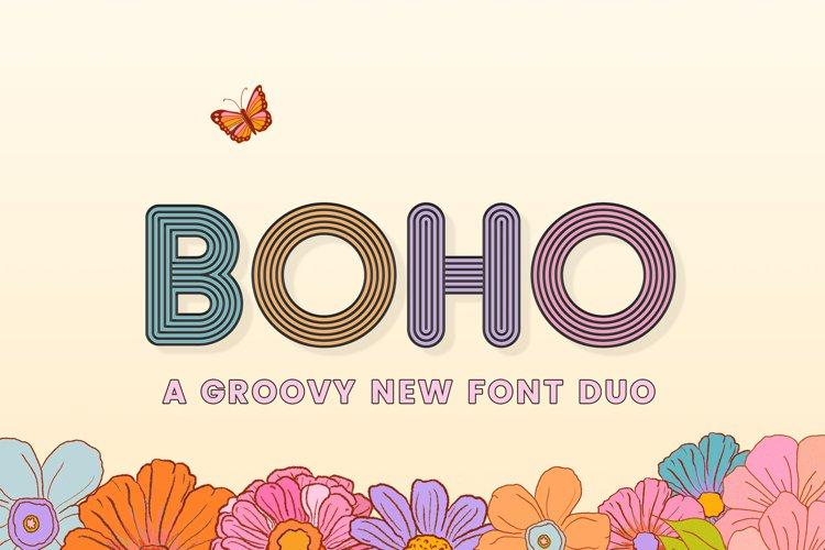 Boho Font Duo example image 1