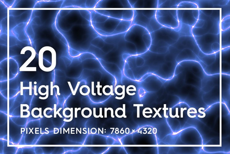 20 High Voltage Background Textures example image 1