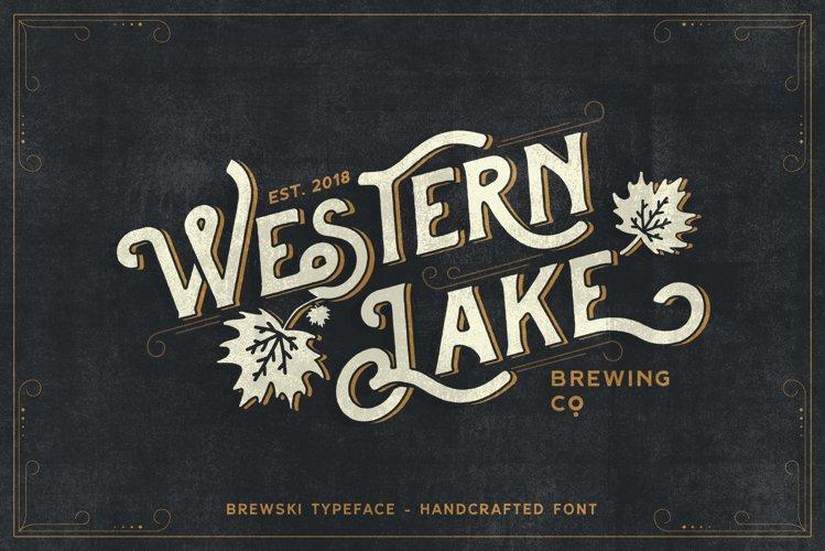 Brewski - Brewery Typeface example image 1