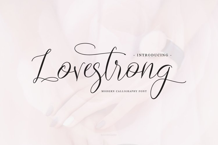 Lovestrong Script example image 1