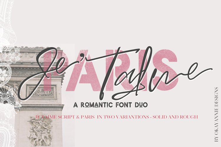 PARIS, Je Taime Font Duo