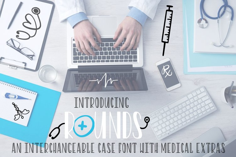 Rounds - A Nurse Font With Extras example image 1