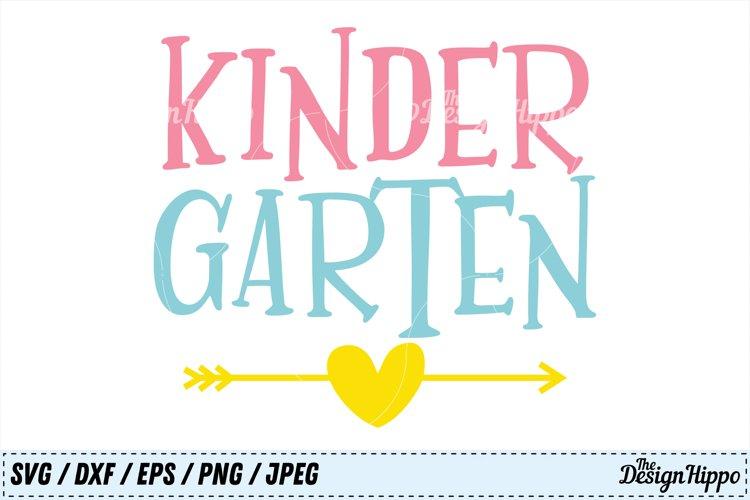 Kindergarten SVG, School PNG, Teacher DXF, 1st Day of School example image 1