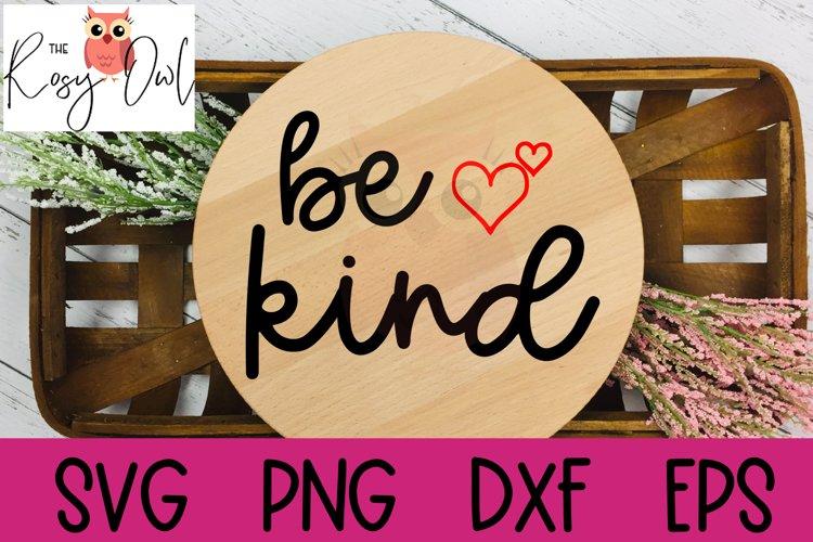 Be Kind SVG | Kindness SVG | Kind with Hearts SVG