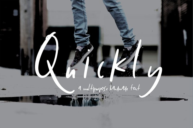 Quickly | Hand Drawn Style example image 1