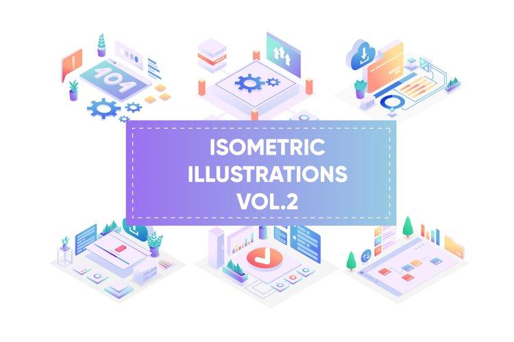 Isometric illustrations for web vol 2