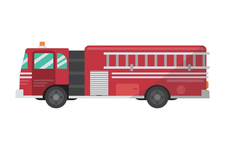Fire Truck Clipart example image 1