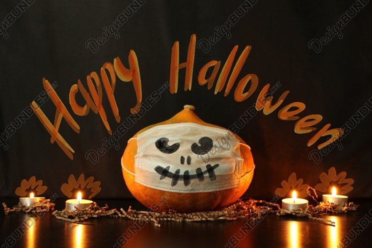 Halloween in the conditions of coronavirus example image 1