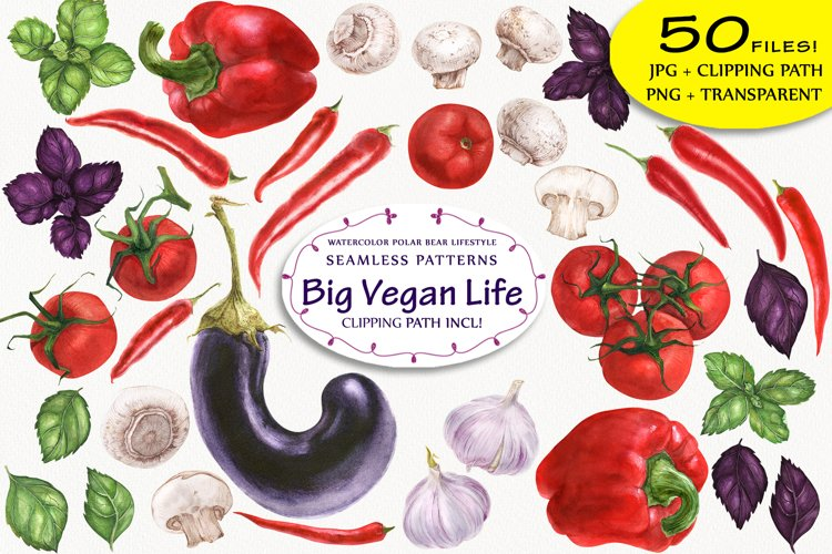 Big Vegan Life example image 1