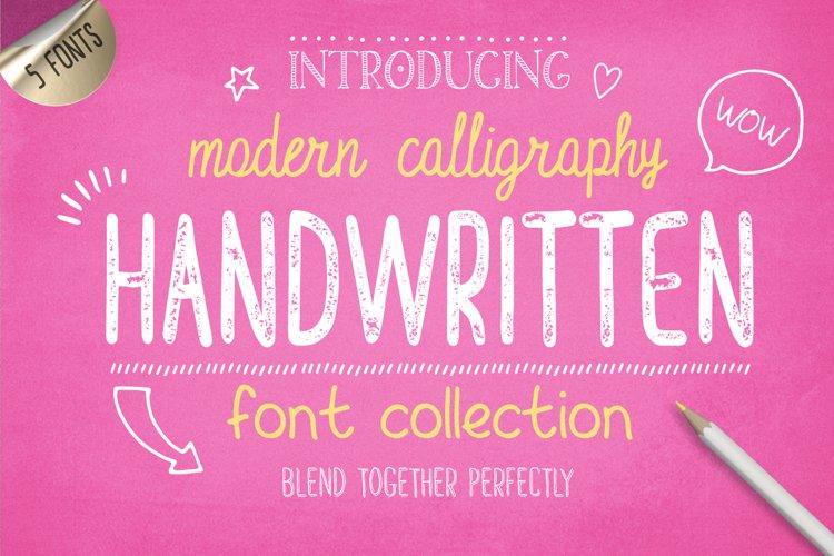 Handwritten Font Collection