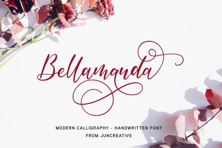 Bellamanda Script Font example image 1
