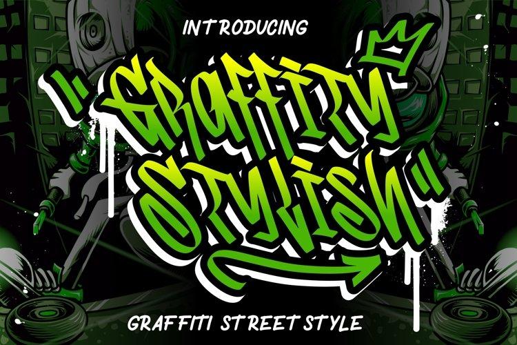 Graffity Stylish Graffiti Street Style example image 1