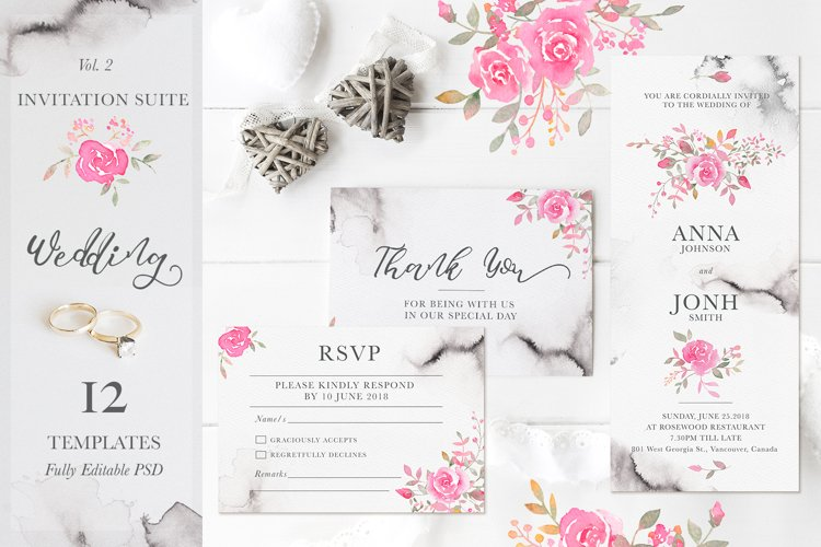 Wedding Romance: Invitation Suite example image 1