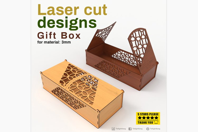 Box - Laser cutting File