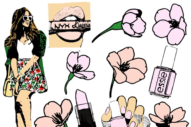 Spring Fling Clipart Collection