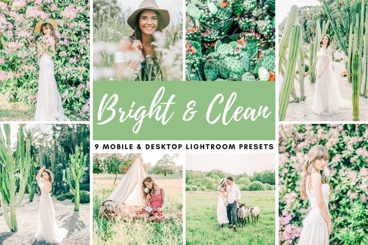 Bright & Clean Mobile & Desktop Lightroom Presets Photo