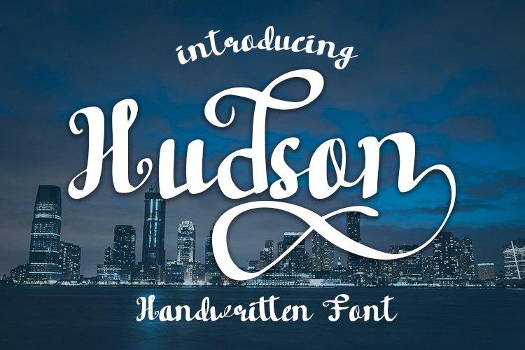 Hudson Handwritten font