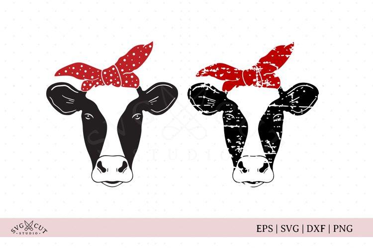 Heifer Face SVG Files