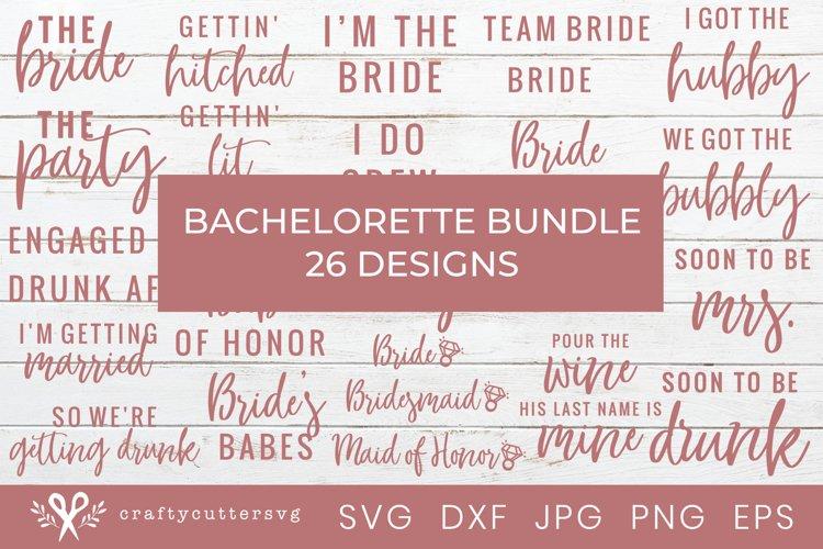 Bachelorette SVG Bundle | Wedding T-Shirt Designs