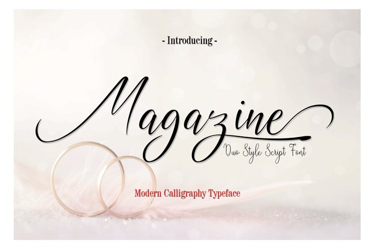 Magazine example image 1