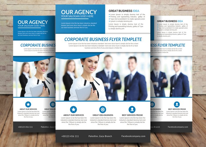 Our Agency Flyer example image 1