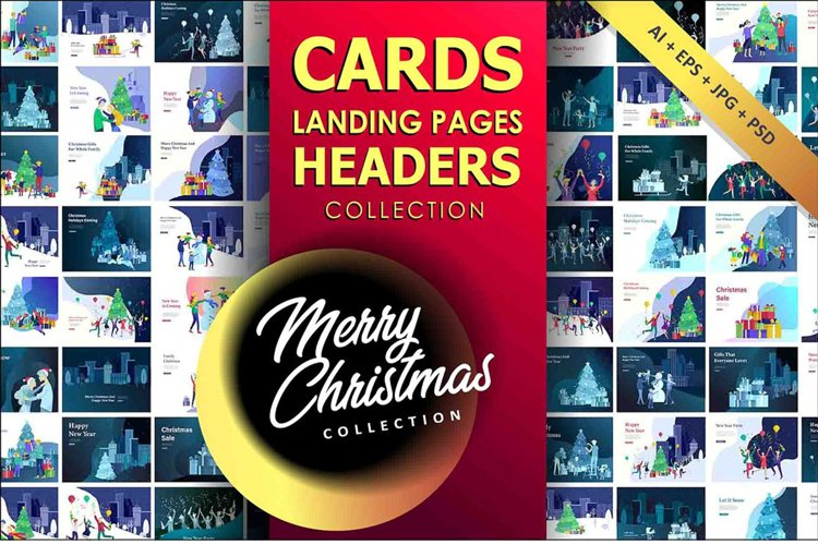 Greeting headers & cards Collection example image 1