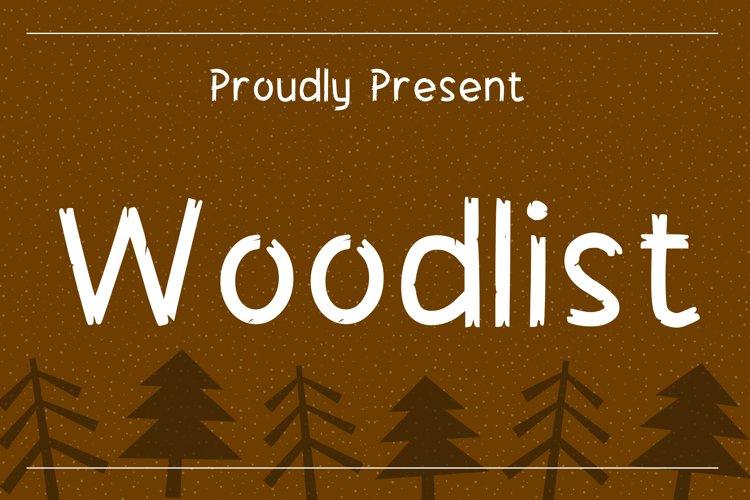 Woodlist