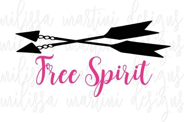 Free Spirit SVG Cut File example