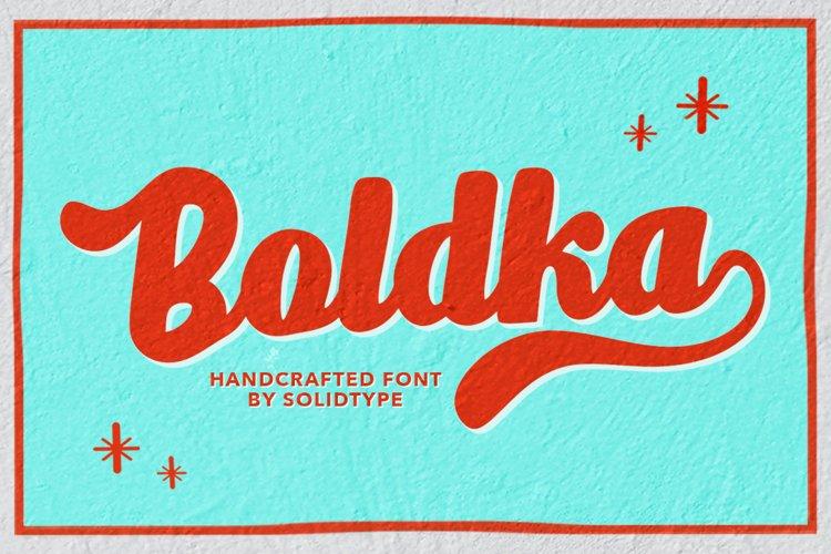 Boldka Script example image 1