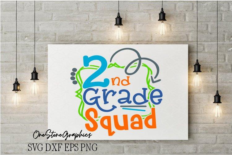 2nd grade squad svg,2nd grade svg,school svg example image 1