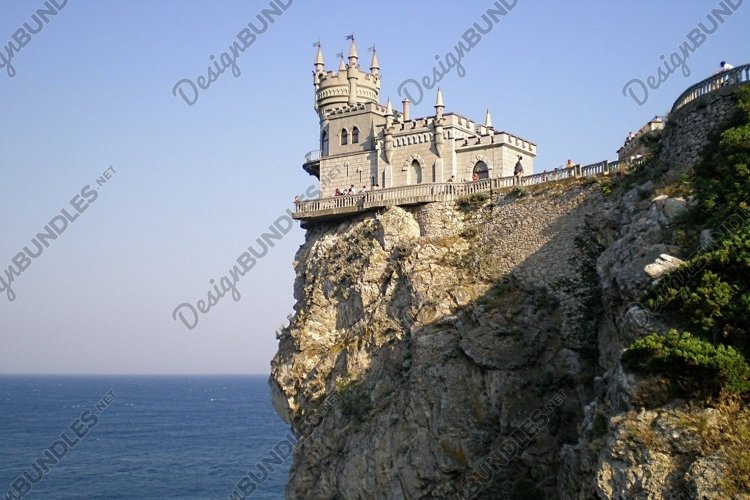 View of the Swallow's Nest Castle,Crimea example image 1