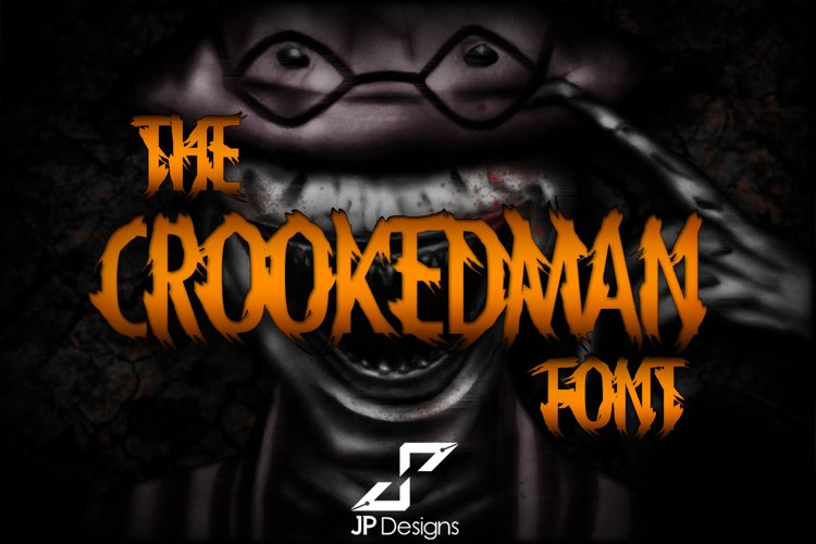 THE CROOKEDMAN FONT example image 1