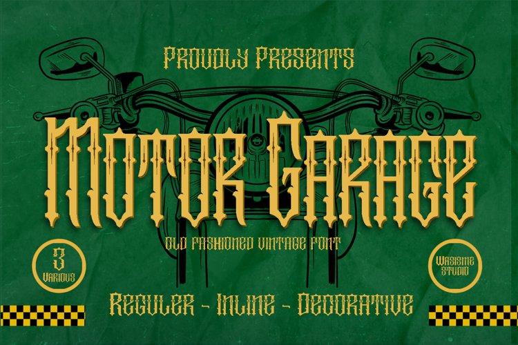 Motor Garage example image 1
