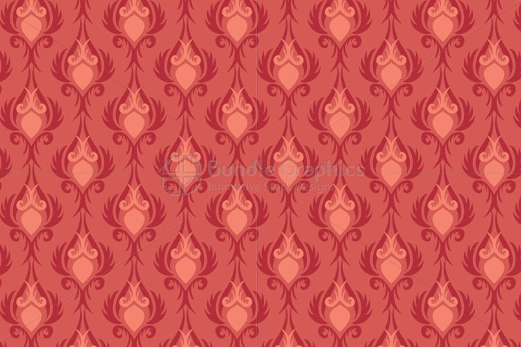 Decorative Vintage Style Seamless background example image 1