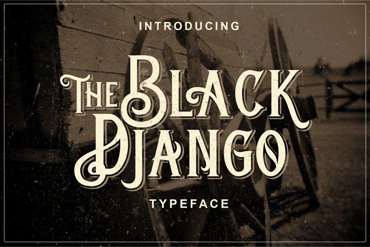 Black Django example image 1