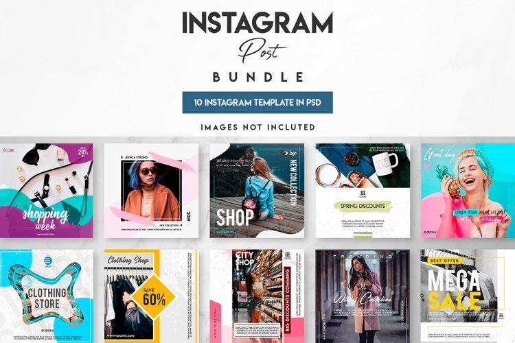 10 instagram post templates