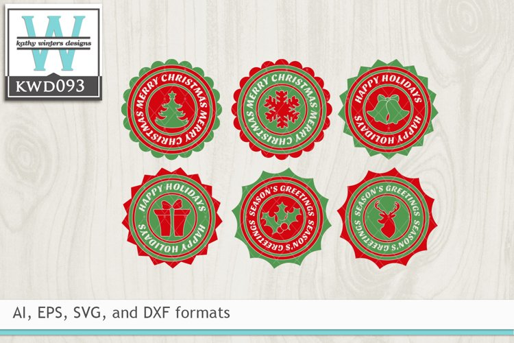 Christmas SVG - Ornament Shapes