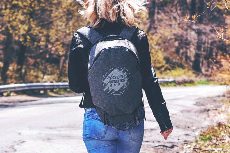 Backpack Mock-up #25