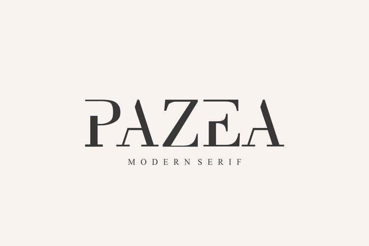 PAZEA FONT   MODERN SERIF