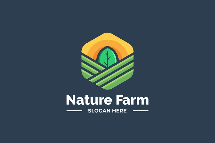 Modern Nature Farm Logo