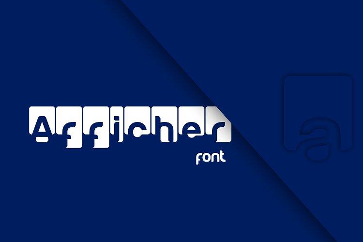 Afficher font example image 1