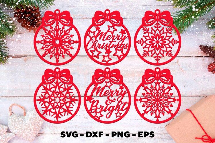 Christmas bauble svg Christmas ornaments svg
