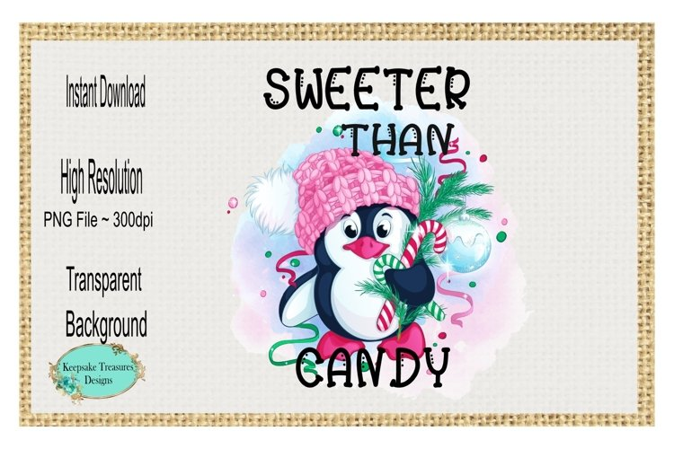 Sweeter Than Candy, Sublimation Design