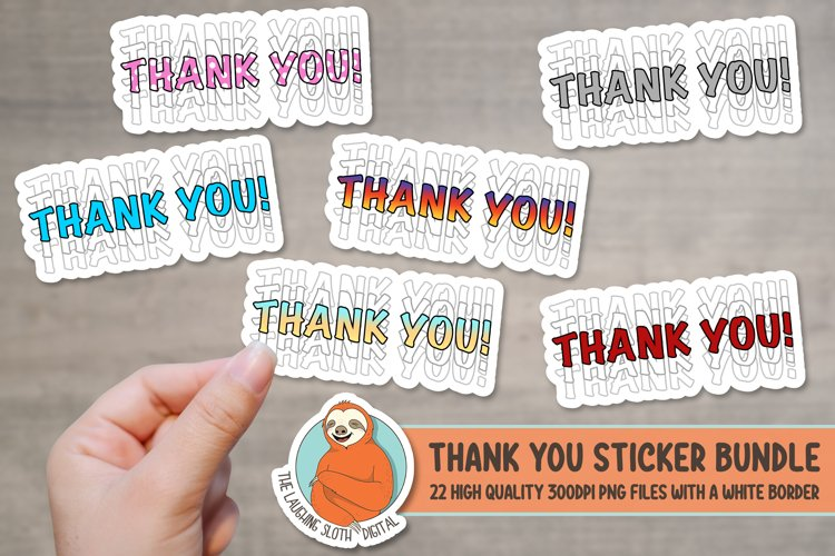 Thank you Packaging Stickers