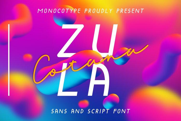 Zula Cotana Duo Font example image 1