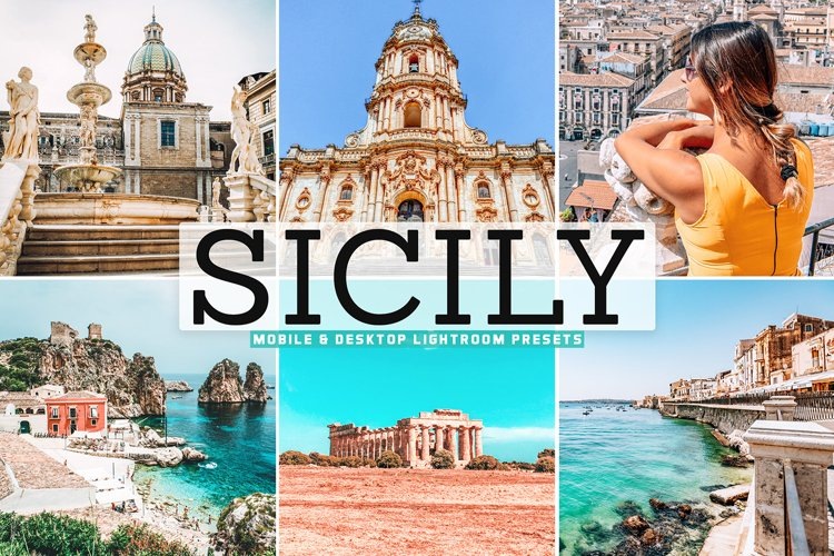 Sicily Mobile & Desktop Lightroom Presets example image 1