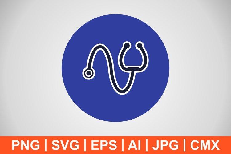 Vector Stethoscope Icon example image 1