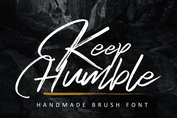 Keep Humble example image 1
