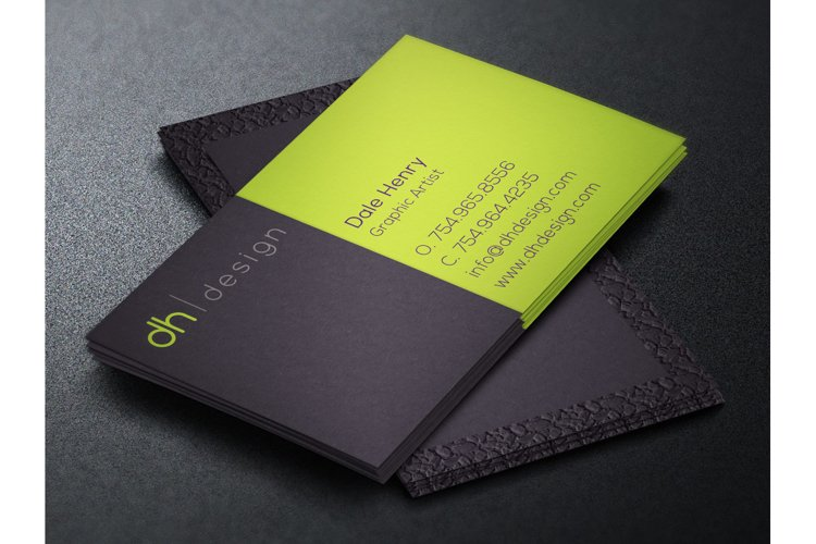 Designer Business Card Template example 1
